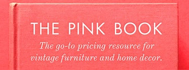 The Pink Book: The go-to pricing resource for vintage furniture and home decor. Mobile banner